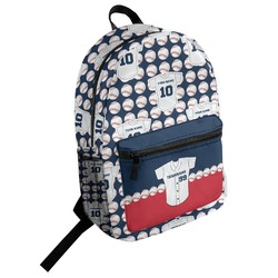 Baseball Jersey Student Backpack (Personalized)