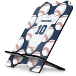 Baseball Jersey Stylized Tablet Stand (Personalized)