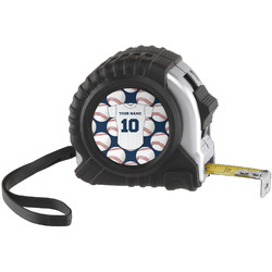 Baseball Jersey Tape Measure (25 ft) (Personalized)