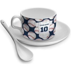 Baseball Jersey Tea Cup - Single (Personalized)