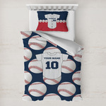 Baseball Jersey Toddler Bedding w/ Name and Number