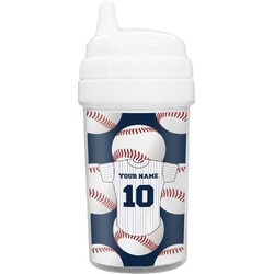Baseball Jersey Toddler Sippy Cup (Personalized)