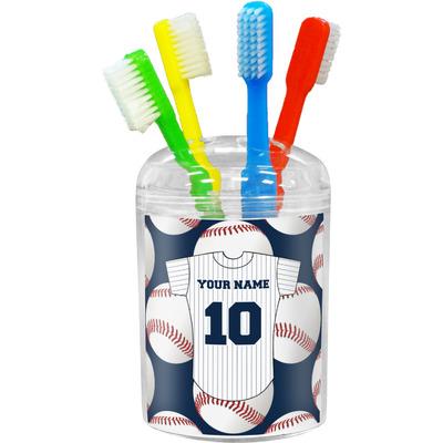 Baseball Jersey Toothbrush Holder (Personalized)