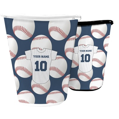 Baseball Jersey Waste Basket (Personalized)