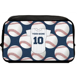 Baseball Jersey Toiletry Bag / Dopp Kit (Personalized)