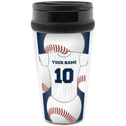 Baseball Jersey Travel Mug (Personalized)