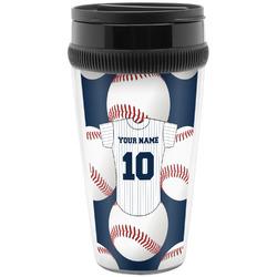 Baseball Jersey Travel Mug (Personalized)