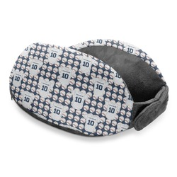 Baseball Jersey Travel Neck Pillow (Personalized)