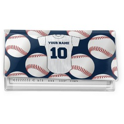 Baseball Jersey Vinyl Checkbook Cover (Personalized)