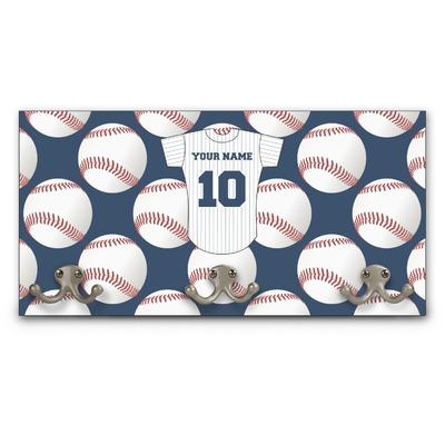 Baseball Jersey Wall Mounted Coat Rack (Personalized)