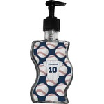 Baseball Jersey Wave Bottle Soap / Lotion Dispenser (Personalized)
