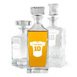 Baseball Jersey Whiskey Decanter (Personalized)