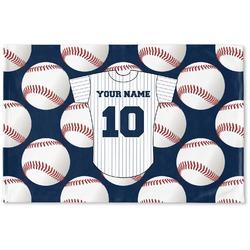 Baseball Jersey Woven Mat (Personalized)