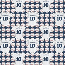Baseball Jersey Wrapping Paper (Personalized)