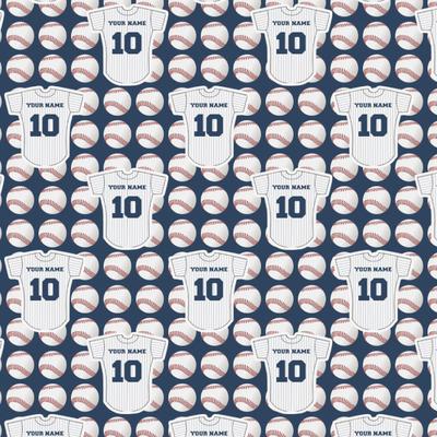 Baseball Jersey Wrapping Paper (Personalized)