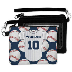 Baseball Jersey Wristlet ID Case w/ Name and Number