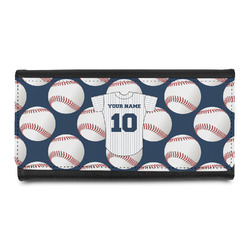 Baseball Jersey Leatherette Ladies Wallet (Personalized)