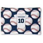 Baseball Jersey Zipper Pouch (Personalized)