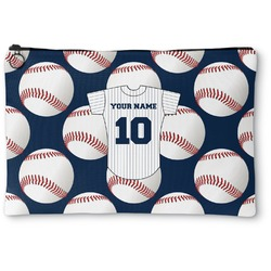 Baseball Jersey Zipper Pouch (Personalized)