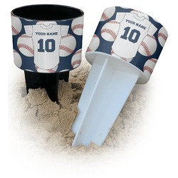 Baseball Jersey Beach Spiker Drink Holder (Personalized)