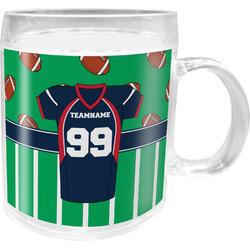 Football Jersey Acrylic Kids Mug (Personalized)