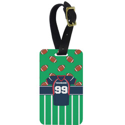 Football Jersey Aluminum Luggage Tag (Personalized)