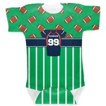 Football Jersey Baby Bodysuit (Personalized)