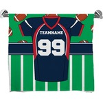 Football Jersey Full Print Bath Towel (Personalized)