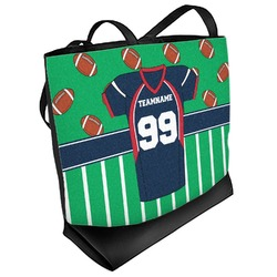 Football Jersey Beach Tote Bag (Personalized)