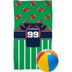 Football Jersey Beach Towel (Personalized)