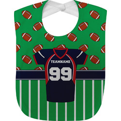Football Jersey Baby Bib (Personalized)