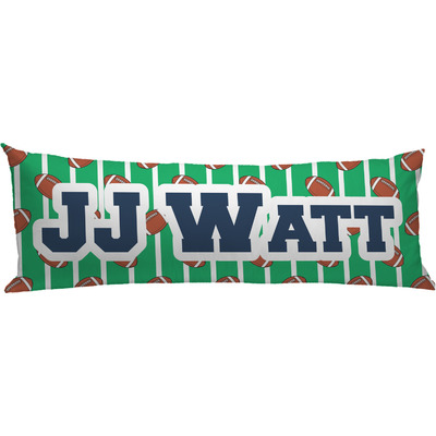 Football Jersey Body Pillow Case (Personalized)
