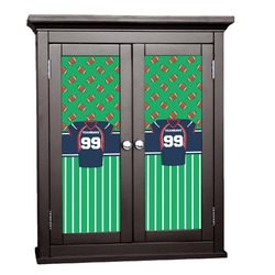 Football Jersey Cabinet Decal - Custom Size (Personalized)