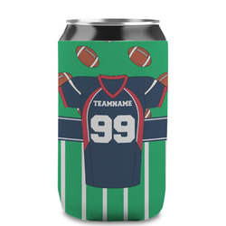 Football Jersey Can Sleeve (12 oz) (Personalized)