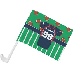 Football Jersey Car Flag (Personalized)