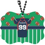 Football Jersey Rear View Mirror Decor (Personalized)