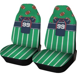 Football Jersey Car Seat Covers (Set of Two) (Personalized)