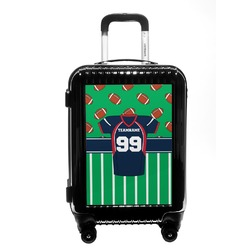 Football Jersey Carry On Hard Shell Suitcase (Personalized)