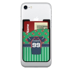Football Jersey Cell Phone Credit Card Holder (Personalized)