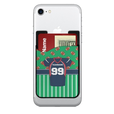 Football Jersey 2-in-1 Cell Phone Credit Card Holder & Screen Cleaner (Personalized)