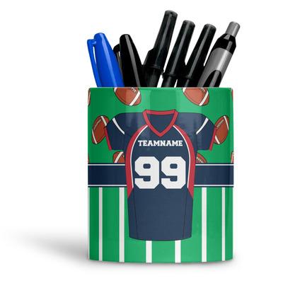 Football Jersey Ceramic Pen Holder