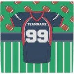 Football Jersey Ceramic Tile Hot Pad (Personalized)