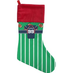 Football Jersey Christmas Stocking (Personalized)