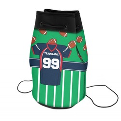 Football Jersey Neoprene Drawstring Backpack (Personalized)