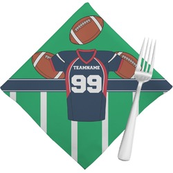 Football Jersey Napkins (Set of 4) (Personalized)