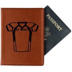 Football Jersey Leatherette Passport Holder (Personalized)