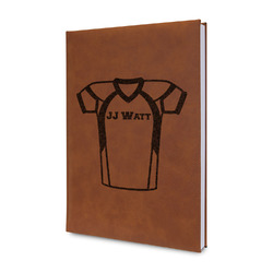 Football Jersey Leatherette Journal (Personalized)