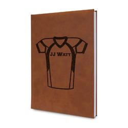 Football Jersey Leatherette Journal (Personalized)