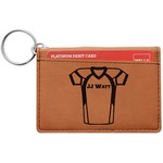 Football Jersey Leatherette Keychain ID Holder (Personalized)