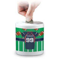 Football Jersey Coin Bank (Personalized)
